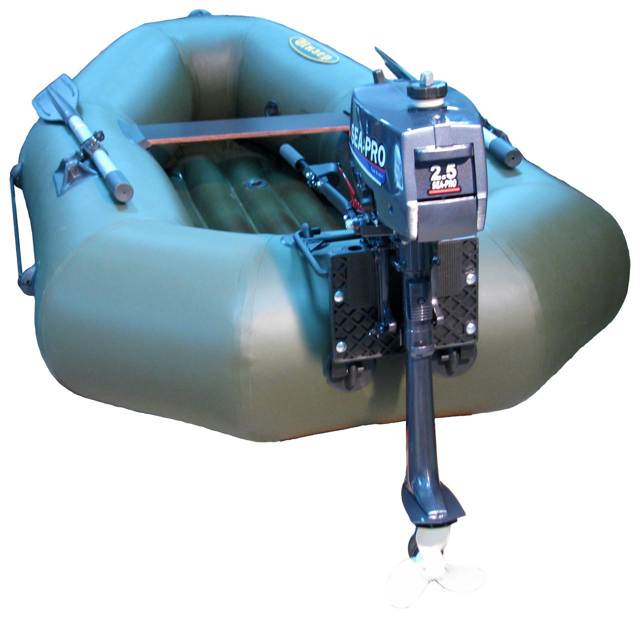 Комфорт на надувной лодке